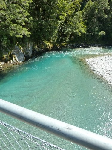 Blue-pool