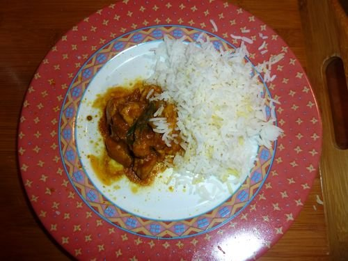 Cari-poulet alimentation dans Devinettes et sondages