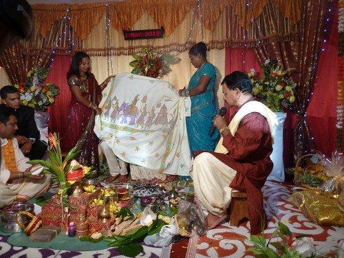 Un mariage hindou une prof l 39 ile maurice - Decoration mariage hindou ...