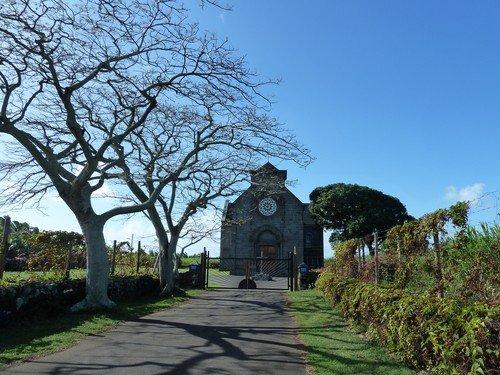 Première communion! dans La vie à Maurice Communion